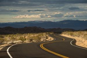 road twilight